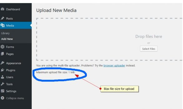 Media Upload File Limit in WordPress Multi-site – WP